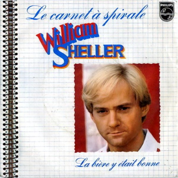 1976 - WILLIAM SHELLER - ''LE CARNET A SPIRALES''