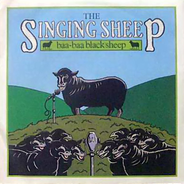 1982 - THE SINGING SHEEP - ''BAA-BAA BLACK SHEEP''