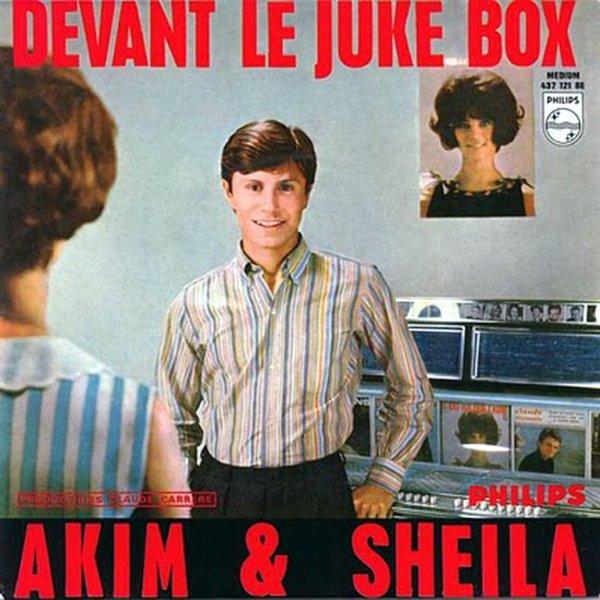 1965 - SHEILA & AKIM - ''DEVANT LE JUKE-BOX''