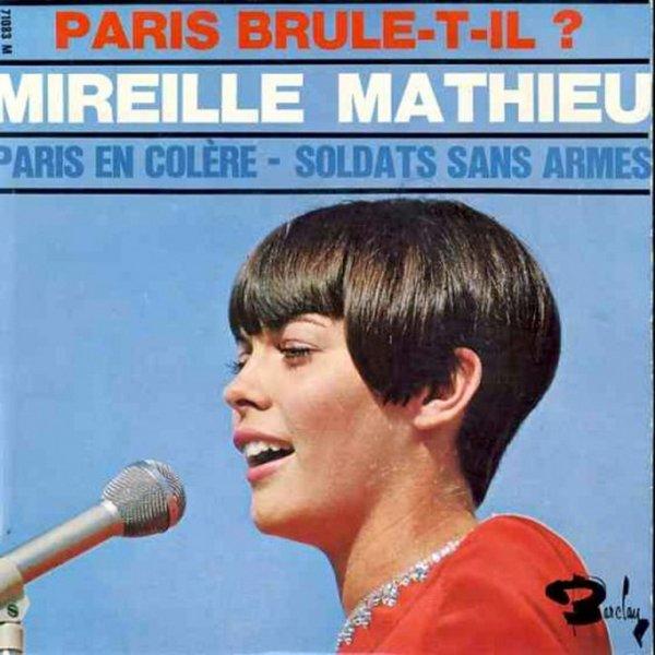 1966 - MIREILLE MATHIEU - ''PARIS EN COLÈRE''