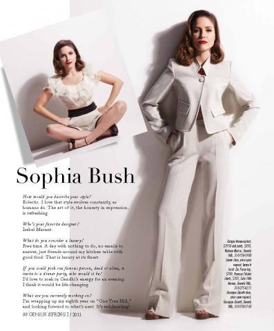 # Sophia Bush et quelques fans de OTH sur le plateau. #
