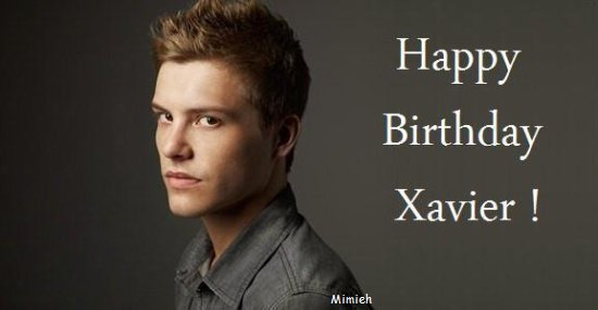 Happy Birthday Xavier !
