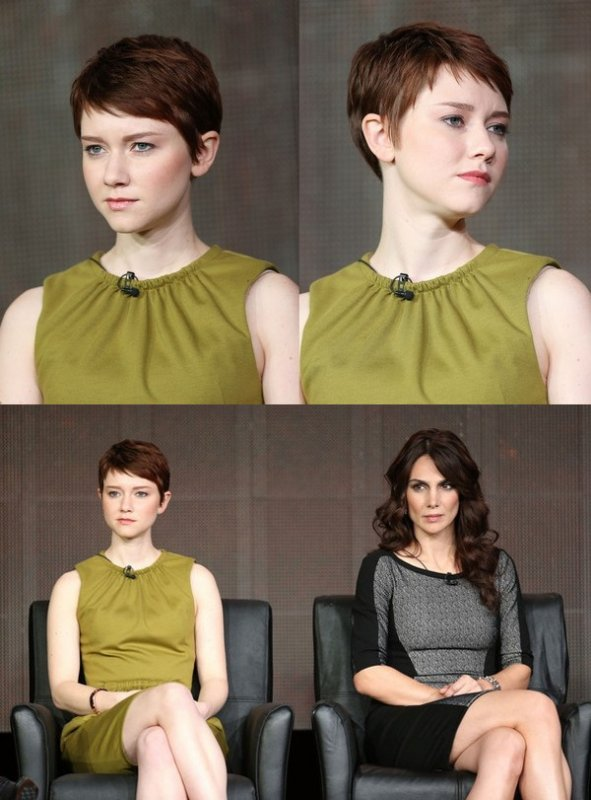 Valorie Curry au TCA Winter Tour