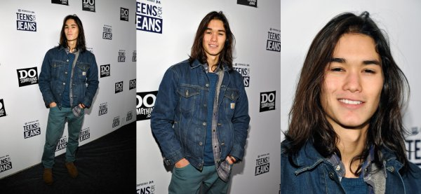 "Booboo S. & Tinsel K. au ""Teens For Jeans"" // Tinsel au Kari Feinstein Style Lounge"