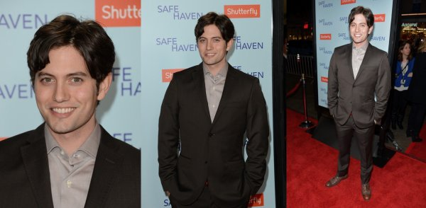 "Jackson aux AP de ""Safe Haven"" & de""Beatiful Creatures"""