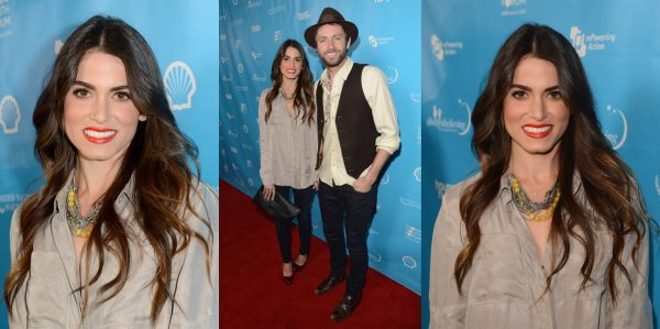 "Kellan et Nikki (ainsi que Paul) au ""mPowering ActionPre-GRAMMY Launch Event"""