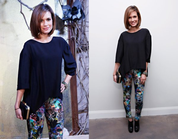 Torrey Devitto lors de la fashion week