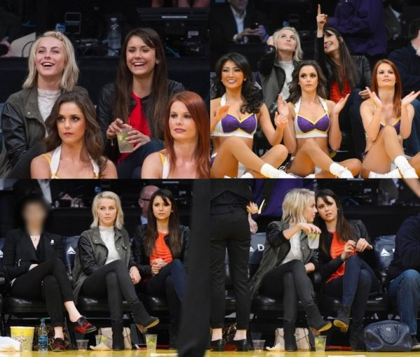 "Nina ""Most Powerful Stylists"" & à un match des Lakers"