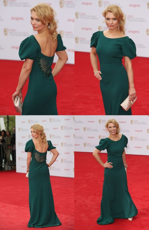 Myanna aux British Television Awards