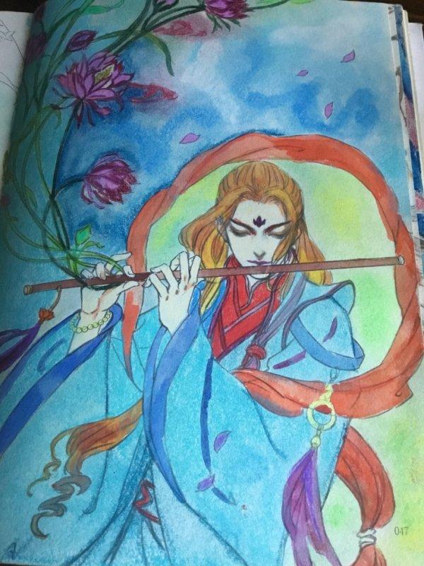 crayons,peinture,pastel sec