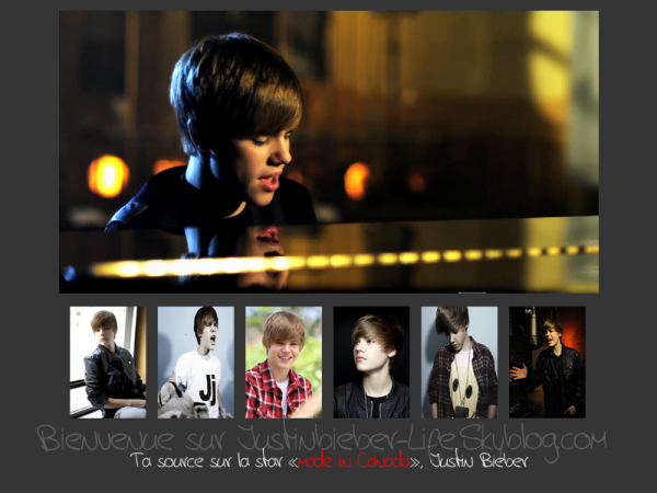 Présentation , Justinbieber-Life le seul et unique blog source sur Justin Bieber à avoir été Blog de la semaine.