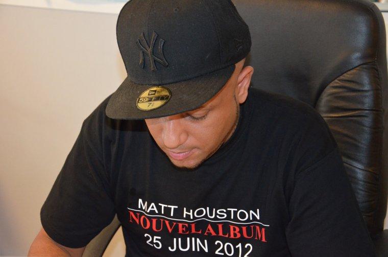 Matt Houston en live
