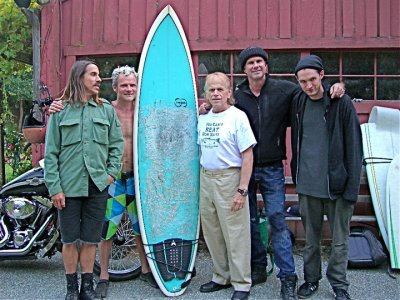 PIC Al Jardine & NEW Red Hot Chili Peppers Lineup