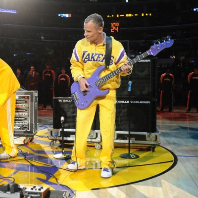 Flea listed 16th in top 20 Celebrity NBA Fans