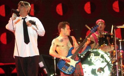 Red Hot Chili Peppers, Snow Patrol, Capital Inicial rock in rio 2011