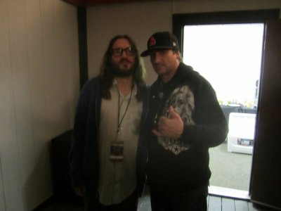 John Frusciante new photo (System Of A Down concert, Irvine)