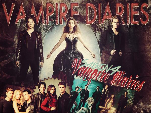 vampire diaries Saison 4 (Création de magicdreams)