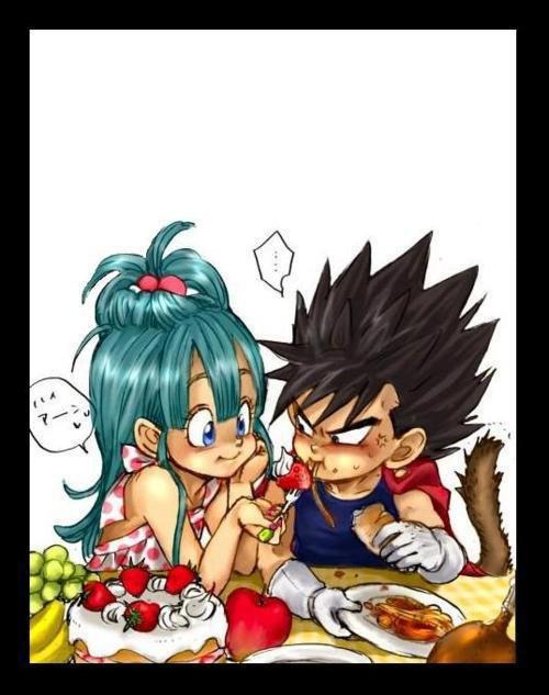 etes vous fan du couple  vegeta/bulma ? moi oui !