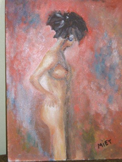 ma première toile de femme