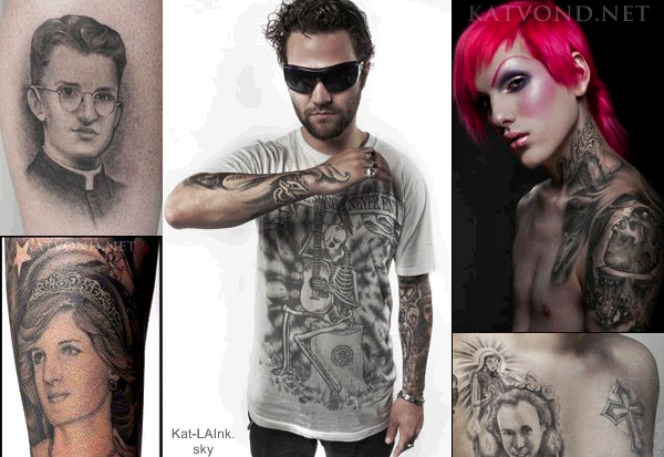 TATTOOS by Kat '' En admiration total ''