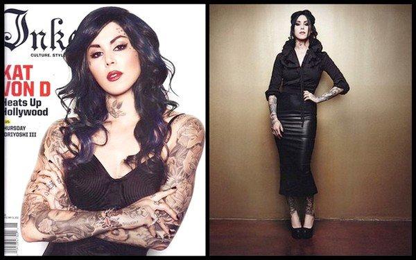 Kat sur le Magazine Inked : Mai 2011