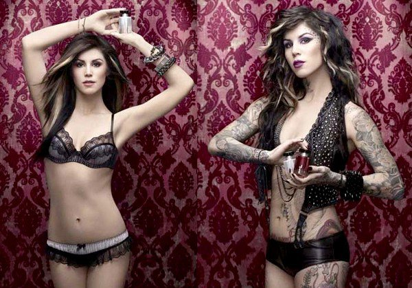 Kat Von D Without Tattoos for Sephora