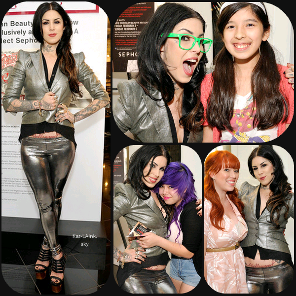 Sephora Presents Kat Von D's First Solo Art Show