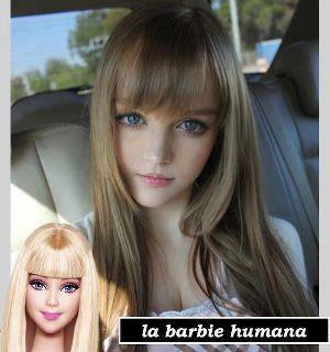 « Barbie Humana à une sosie  »