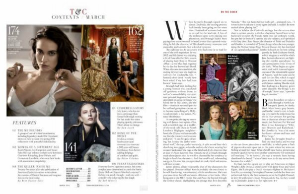 "Magazine ""Town and Country"""