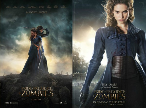 Affiche + Promo - Pride and Prejudice and Zombies