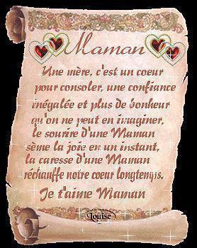 Poeme Pour Ma Mere Blog De Pyromandu26