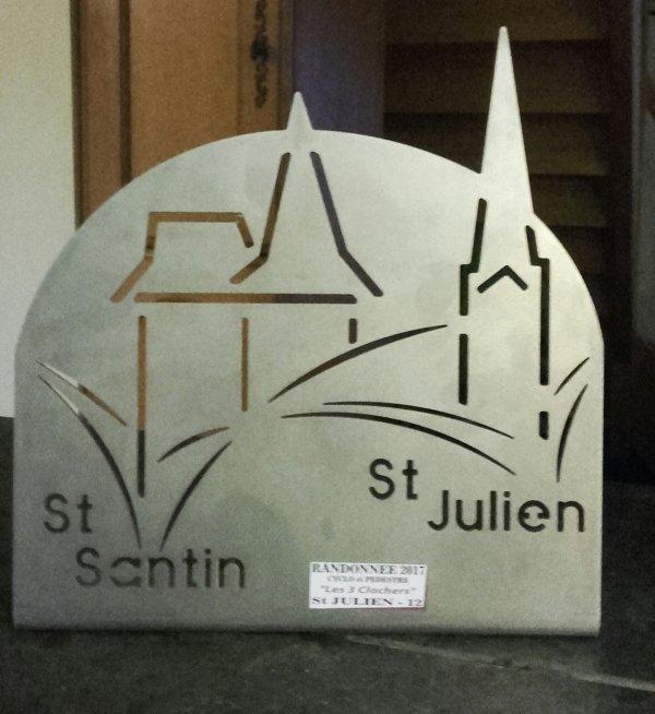 SAMEDI 10 MARS / RANDO DES 3 CLOCHERS A ST JULIEN DE PIGANIOL