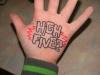 High five ?