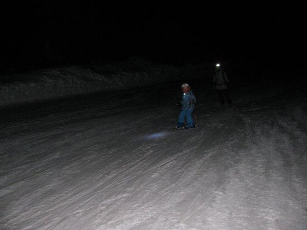 le ski de nuit