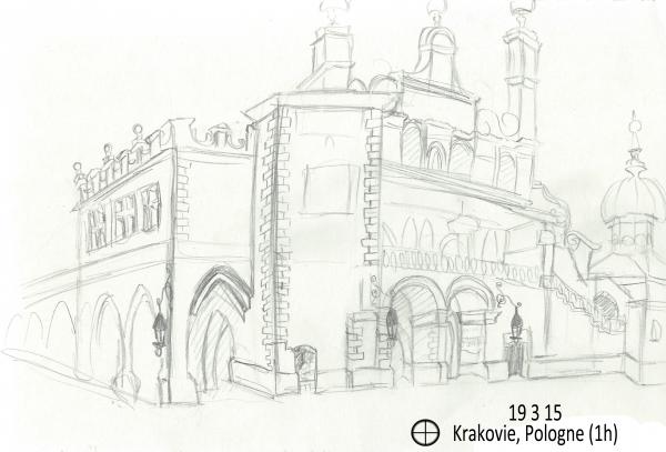 Voyage scolaire à Krakovie