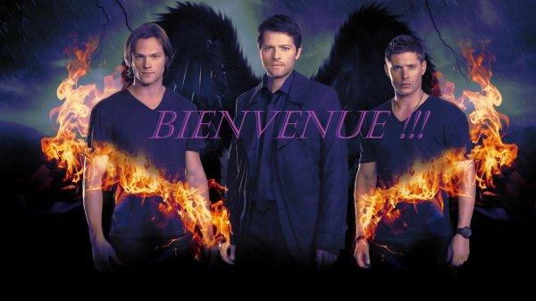 BIENVENUE sur mon blog de Supernatural <3 !!!