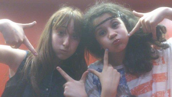 Mwa et ma folle :)