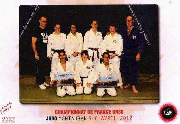 Championnat de France par équipe unss .