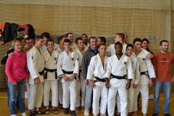 équipe judo .