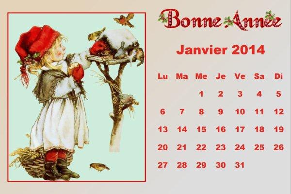 voeux divers.. calendrier 2014