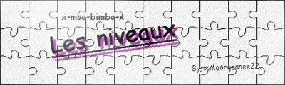 x-maa-bimbo-x               :              Les niveaux du jeu.