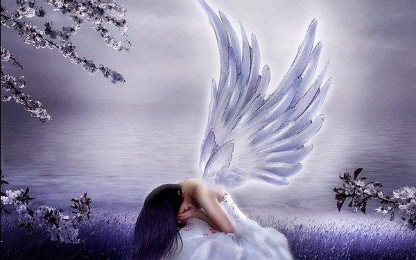 mon ange est triste et va se transformer en demon