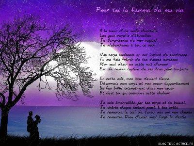 Un Petit Poeme Pour Ma Femme Adoré Blog De Dj Bobo60