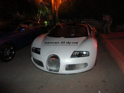 La première Bugatti Veyron au Maroc