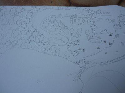 Plan des clans (vu par moi, et un peu copiés sur le livre !)