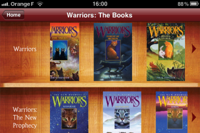 Warriors Cats for IPhone
