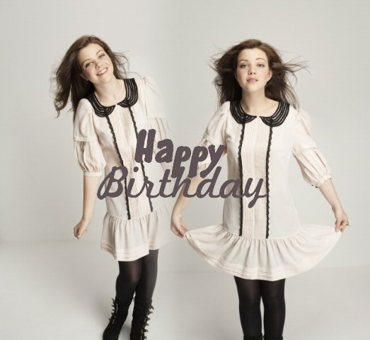 Happy birthday to you Georgie !