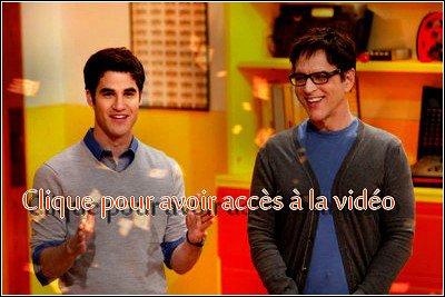 Darren dans The Glee Project + Tweet