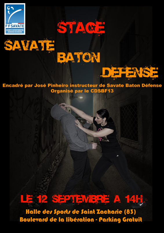 INITIATION SAVATE DEFENSE SAMEDI 12