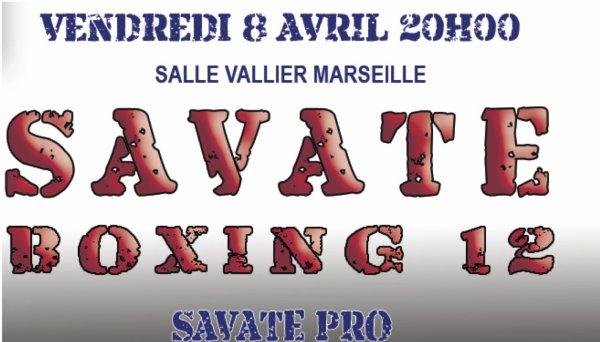 SB12: SAVATE BOXING 12